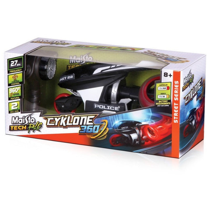 Maisto Street Series Cyklone 360 Radio Remote Control Racing Bike
