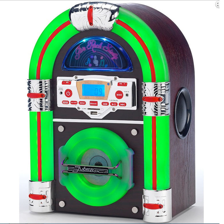 Jive Rock Sixty Table Top Jukebox - Dark