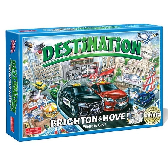Destination: Brighton & Hove - Souvenir Game - 10th Anniversary Edition