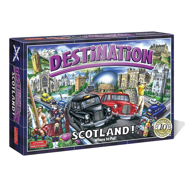 Destination: Scotland - Souvenir Game - 10th Anniversary Edition