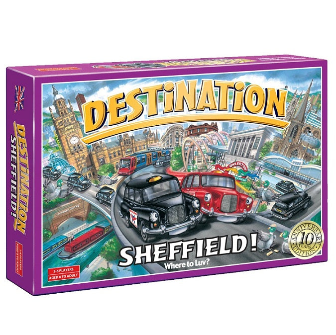 Destination: Sheffield - Souvenir Game - 10th Anniversary Edition
