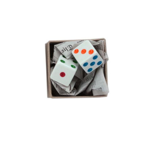 World's Smallest Package - Pair of Dice