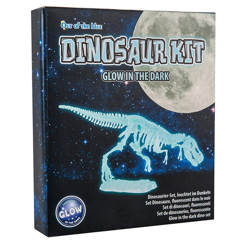 Children's Plastic Glow in the Dark Dinosaur Kit