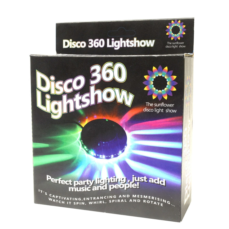 Disco 360 Sunflower Lightshow