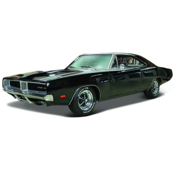 Black Dodge Charger 1:18 Scale Diecast Car