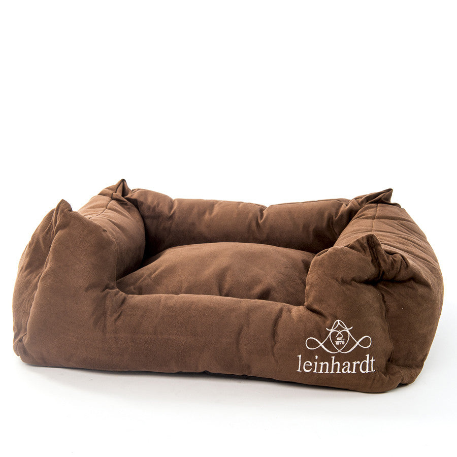 Extra Soft Brown Padded Comfy Cat / Dog Pet Bed