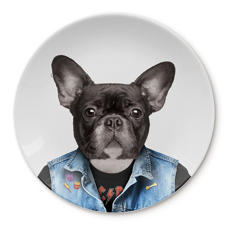 Wild Dining Dylan Dog Ceramic Side Plate