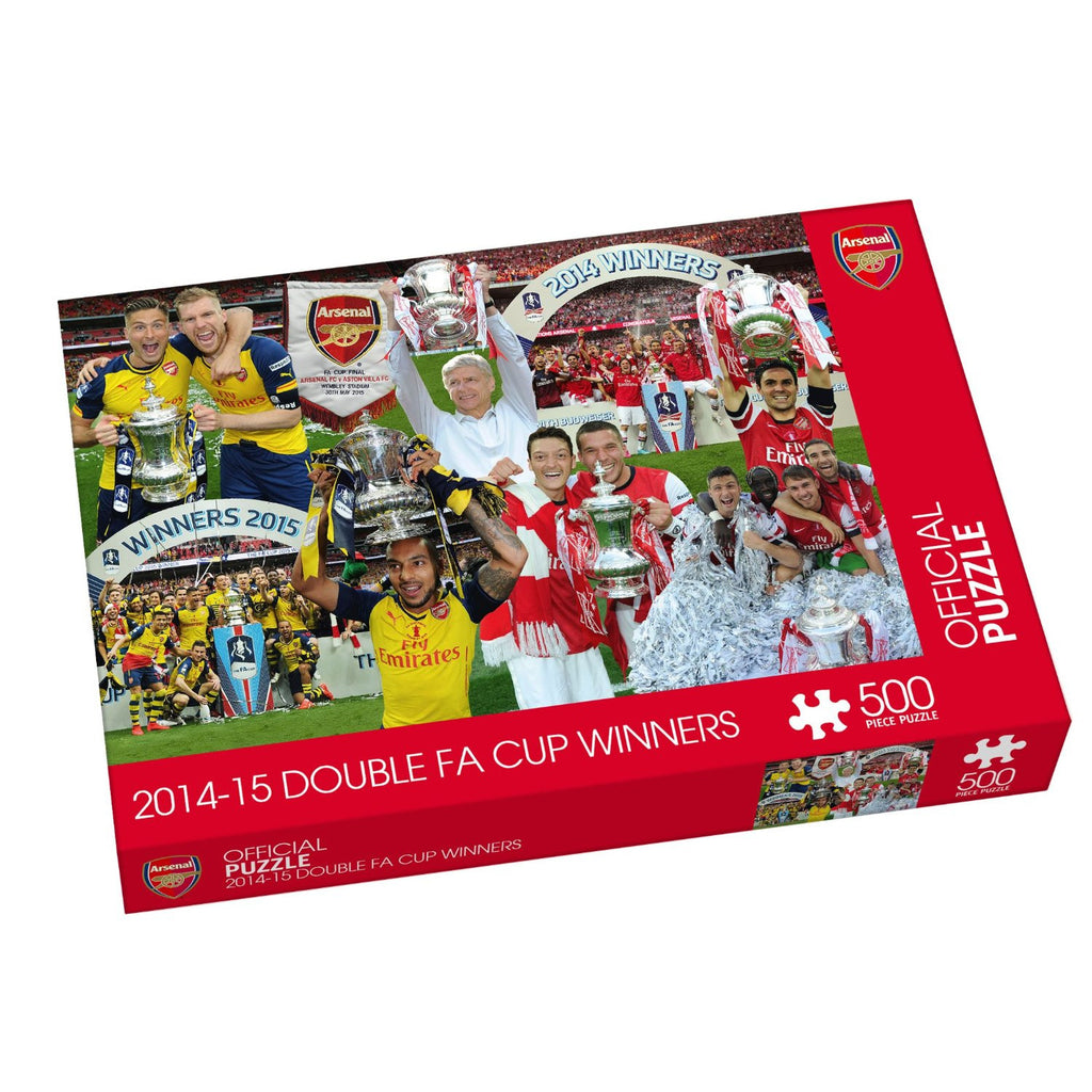 Paul Lamond Arsenal 2014-2015 Double FA Cup Winners Puzzle