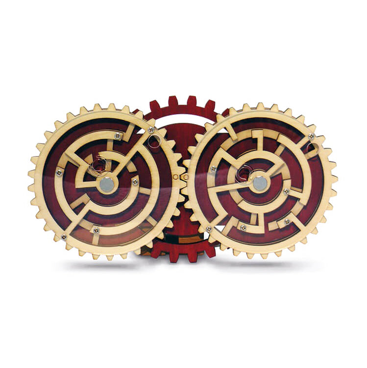 Double Trouble Wooden Puzzle by Constanin Puzzles
