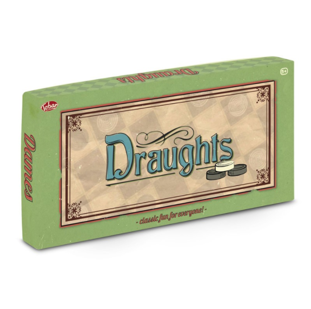 Draughts - Traditional Board Game