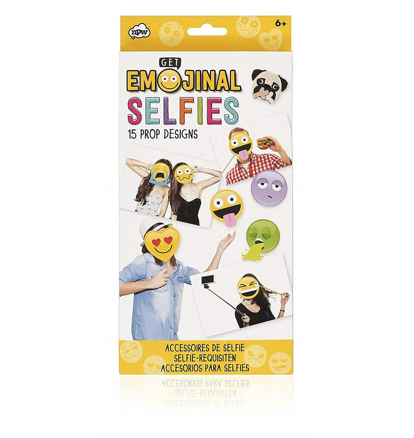 Emoticon Photo Booth Emojinal Selfie Props Set