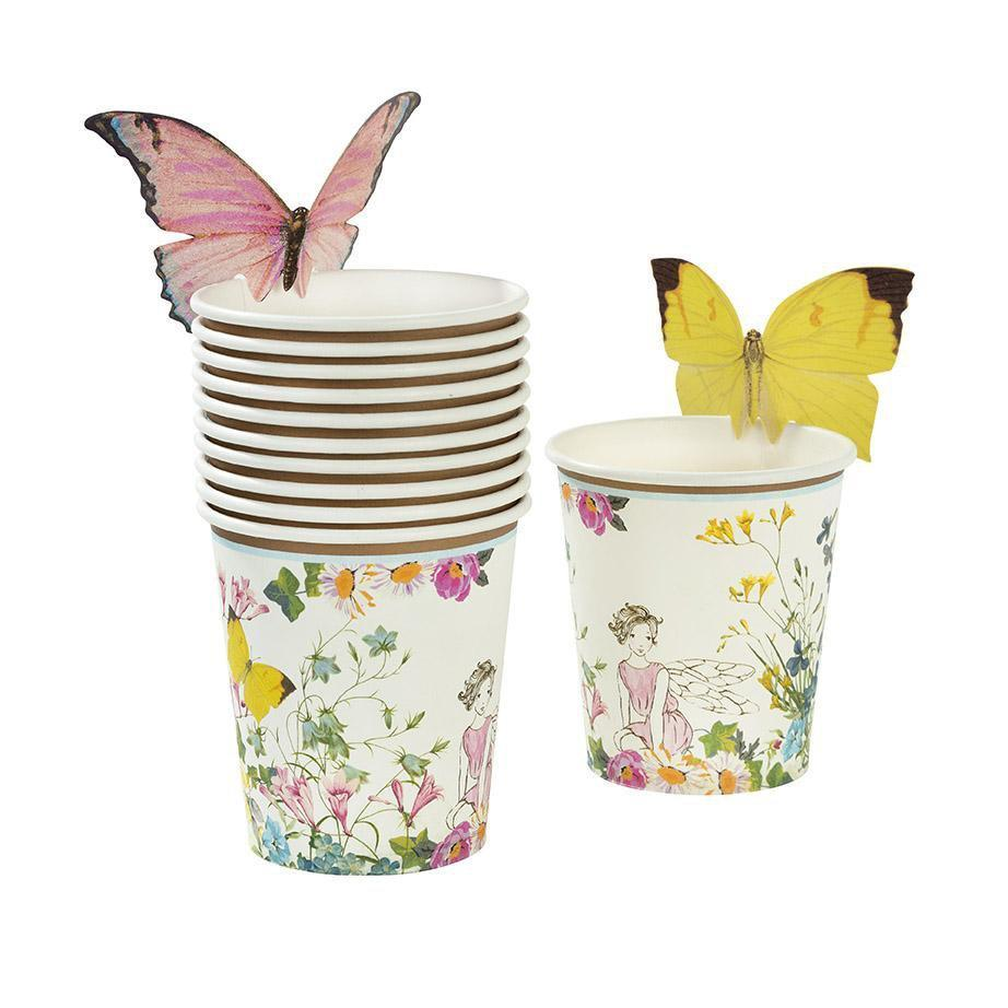 Truly Fairy Paper Cups with Butterfly Detail by Talking Tables