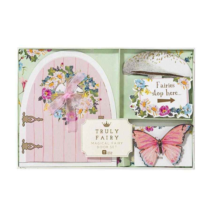 Truly Fairy Magical Fairy Door Set by Talking Tables Packaging
