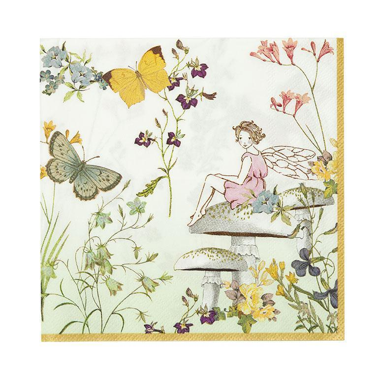 Truly Fairy Paper Napkins by Talking Tables