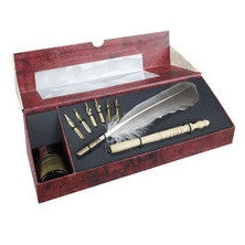 Authentic Models Feather Pen Set