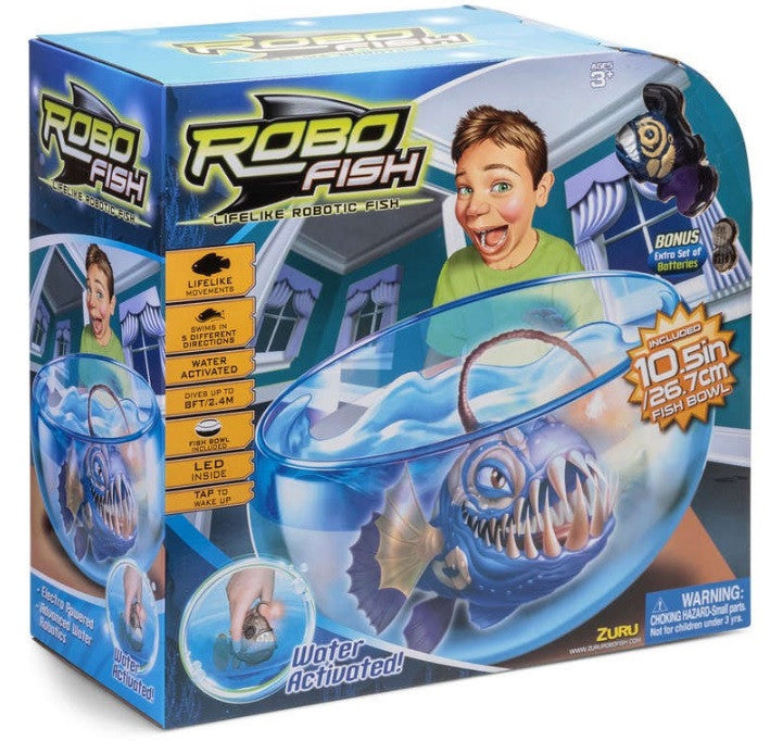 Robotic Angler fish in a box