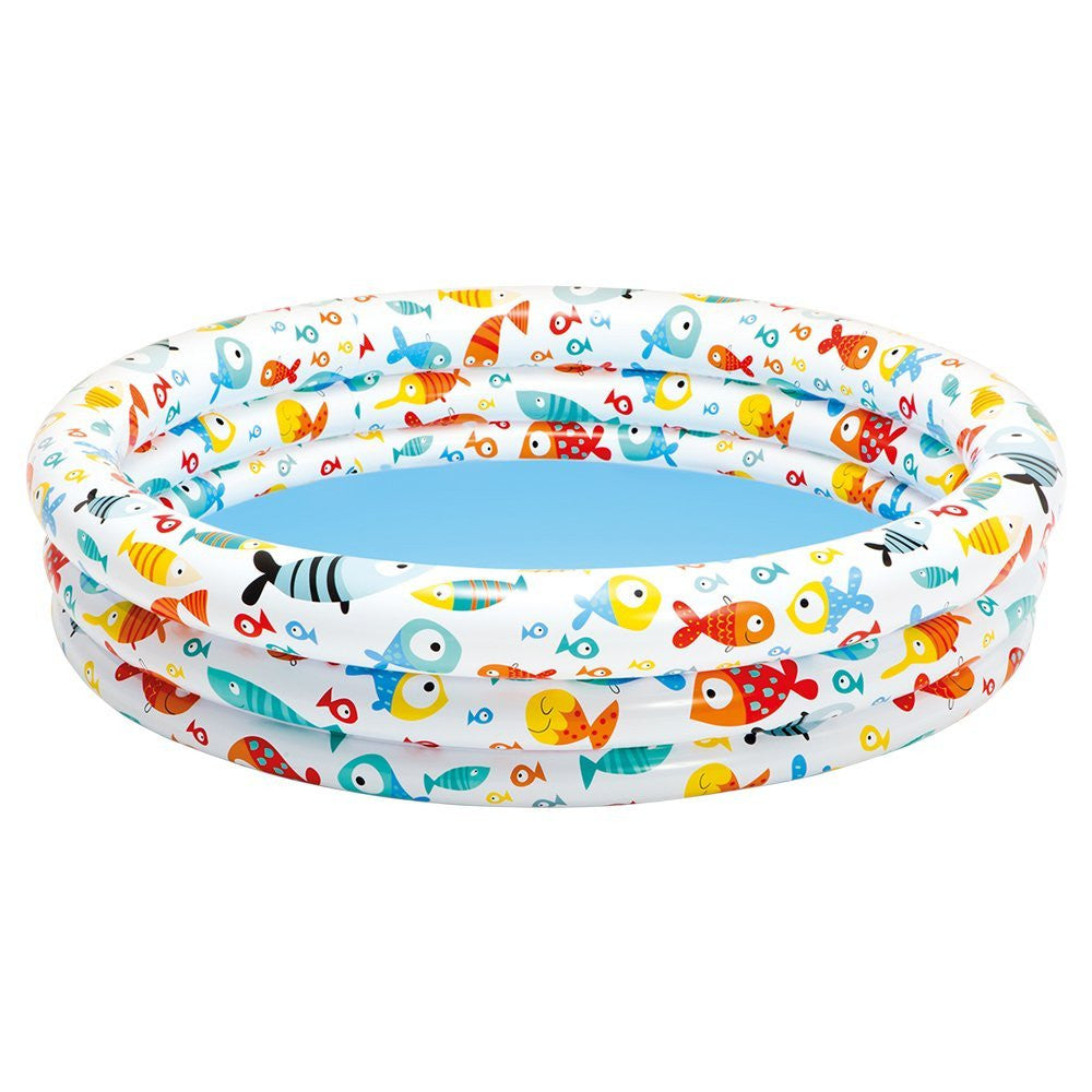 "Inflatable Fishbowl Paddling Pool 52"" x 11"""