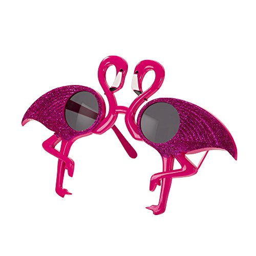 Tropical Fiesta Pink Flamingo Sunglasses