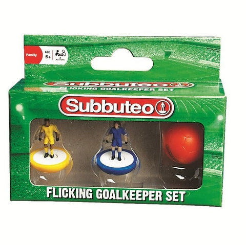 Subbuteo Flicking Goalkeeper Set
