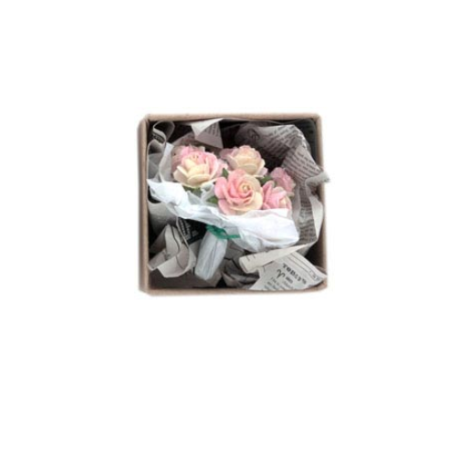 World's Smallest Package - Paper Flowers