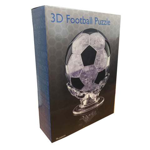 plastic football 3d puzzle