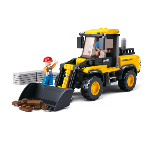 Sluban - Town Construction - Forklift Truck Building Bricks Set