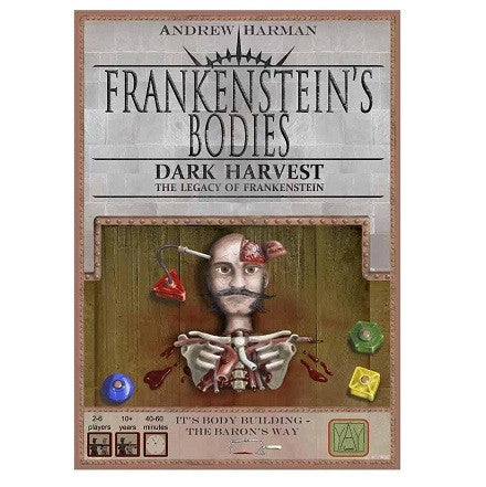 Frankensteins Bodies Dark Harvest Board Game