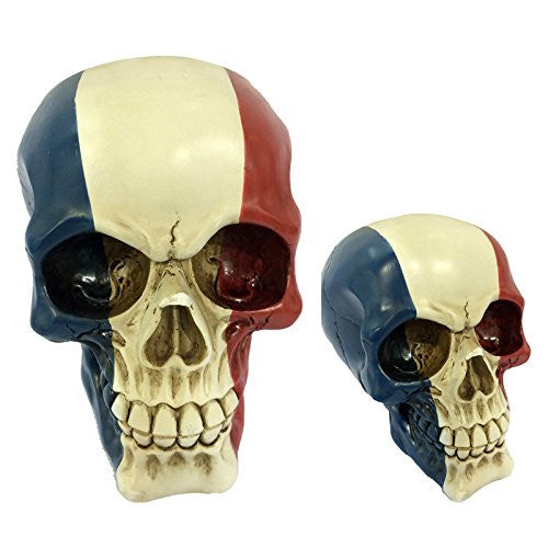 Gruesome Skulls Ornament - French Flag Skull (France)