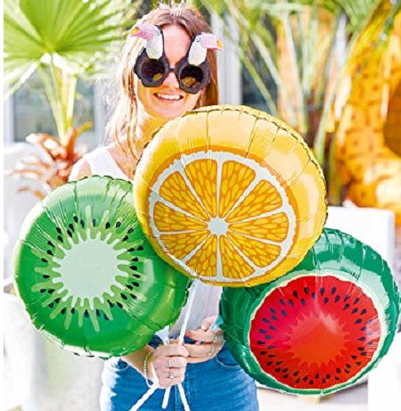 Pack of 3 Fruit Balloons by Talking Tables