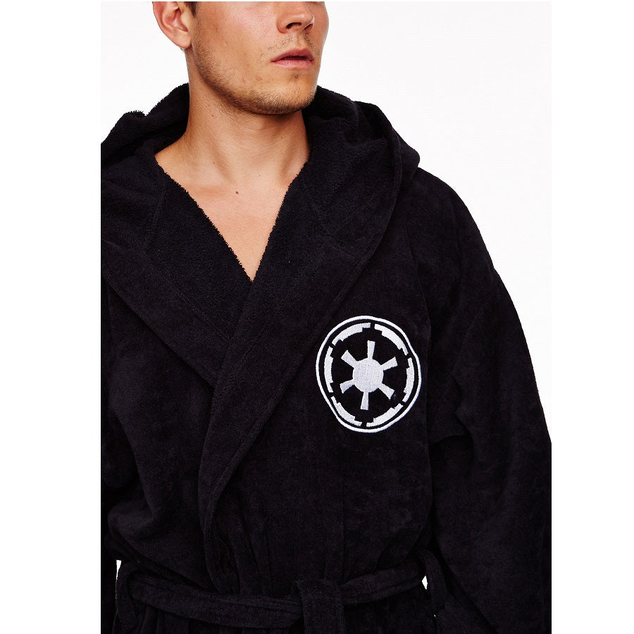 Star Wars Galactic Empire Men's Bathrobe Dressing Gown Embroidery