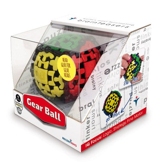Gear Ball Brainteaser Puzzle