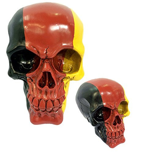 Gruesome Skulls Ornament - German Flag Skull (Germany)