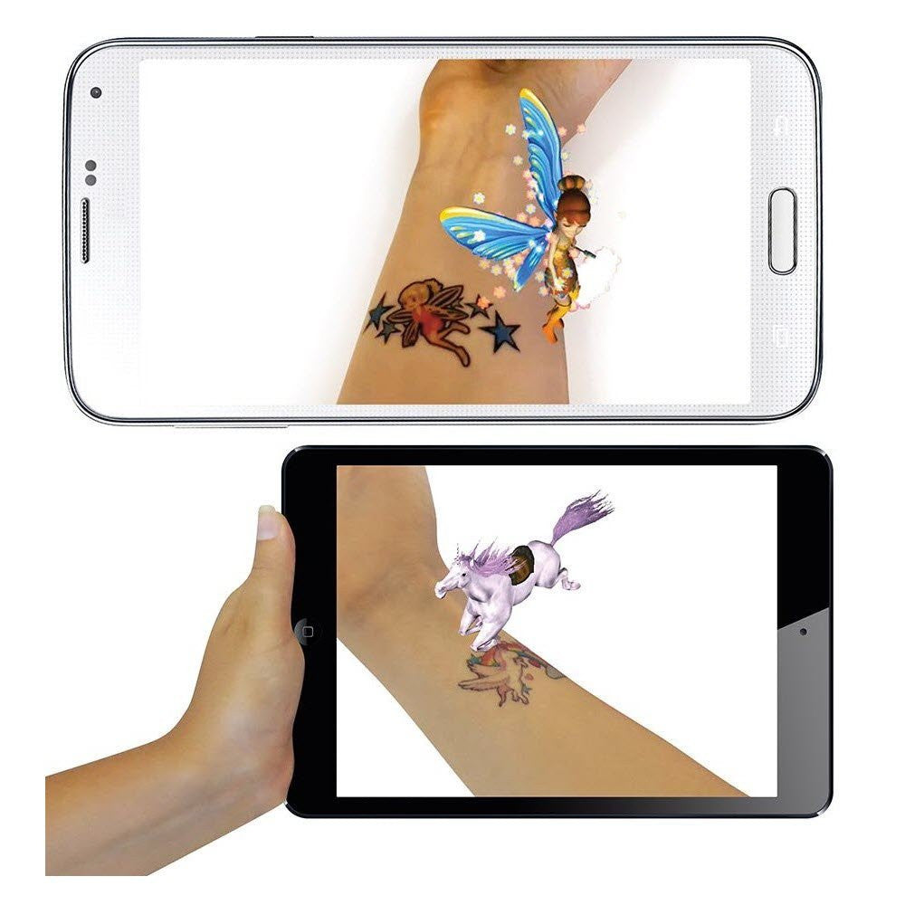 Phone tattoos are temporary tattoos for girls