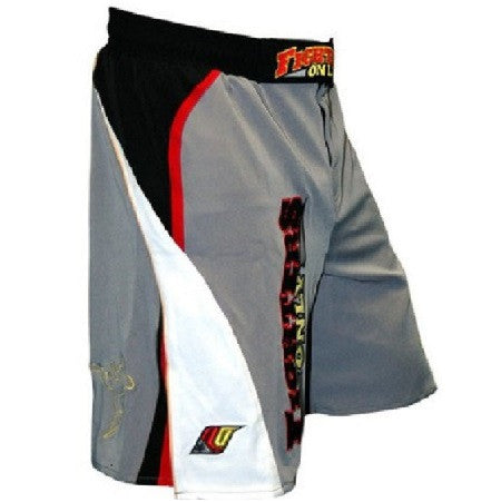 Fighters Only Men's MMA Fight Shorts - Grey