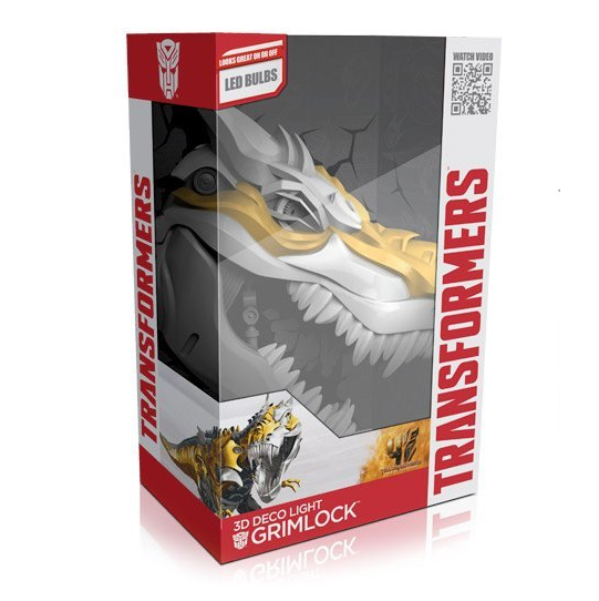 Transformers Grimlock 3D Deco Wall Light