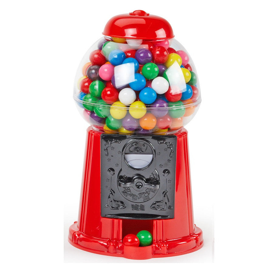 Retro Style Red Desktop Gumball Machine with Gumballs