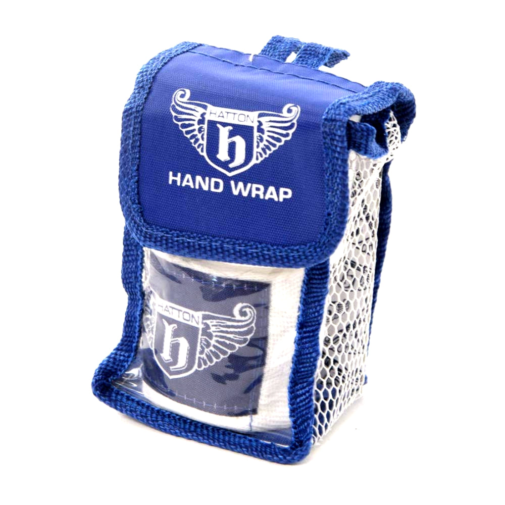 Hatton Men's Blue & White Hand Wraps 2.5m