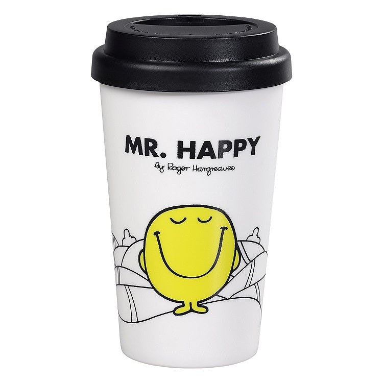 Mr Men Mr Happy Travel Mug