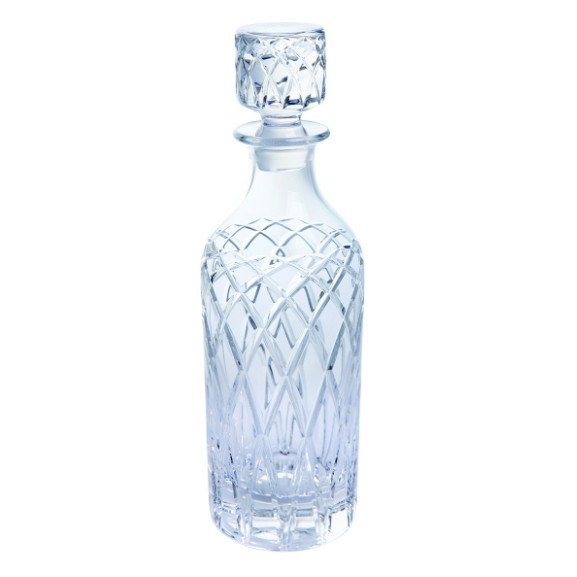 Royal Brierley Harris Tall Clear Spirit Decanter