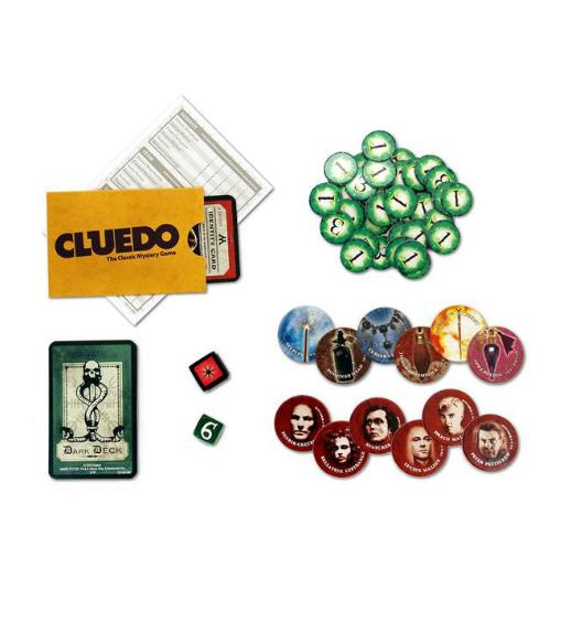Harry Potter Cluedo pieces