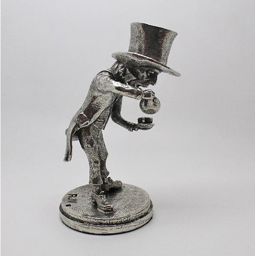 The Mad Hatter Pewter Miniature Figurine (Alice In Wonderland)