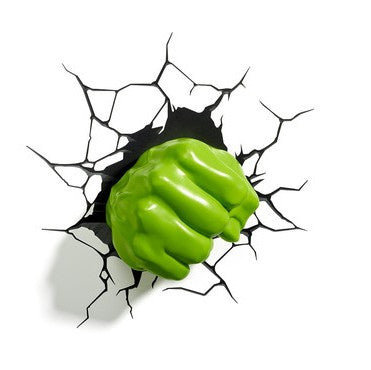 Hulk Fist 3D Deco Wall Light