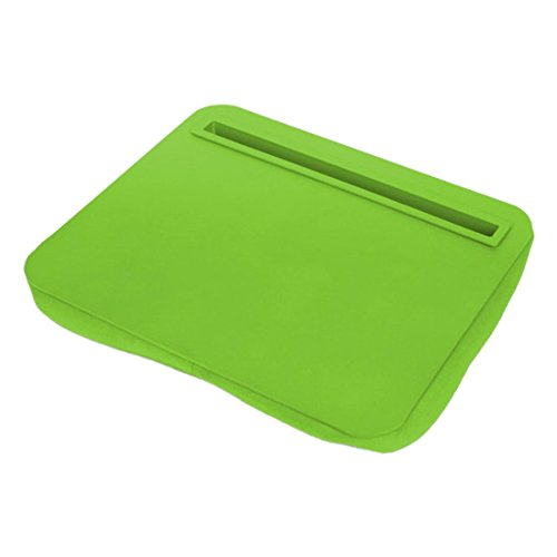 Green iBed Lap Desk Cushioned Tablet Stand