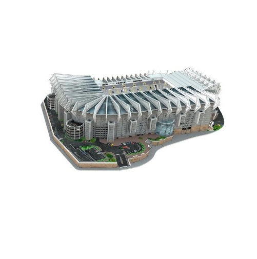 Newcastle United St James' Park 3D Stadium Puzzle Complete
