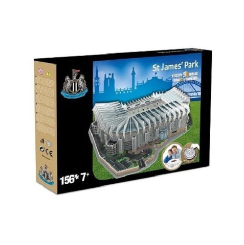 Newcastle United St. James' Park 3D Stadium Puzzle