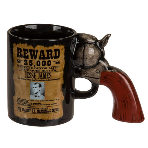 jesse james billy kid gun mug
