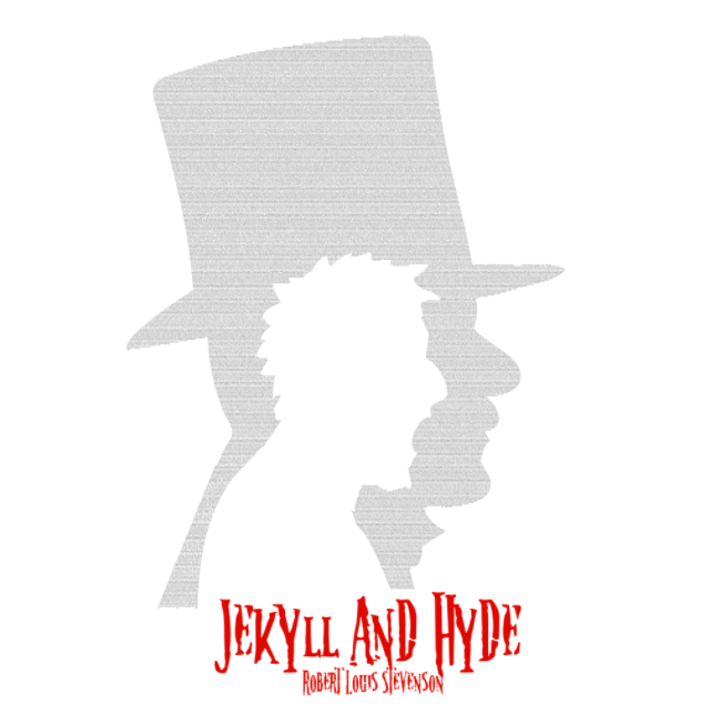 'Jekyll & Hyde' Full Book Text Poster Print