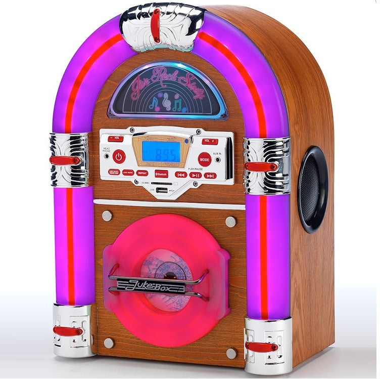 Jive Rock Sixty Table Top Jukebox - Light