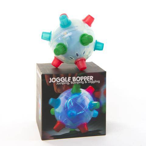 Giggling Jumping Joggle Bopper Ball with box