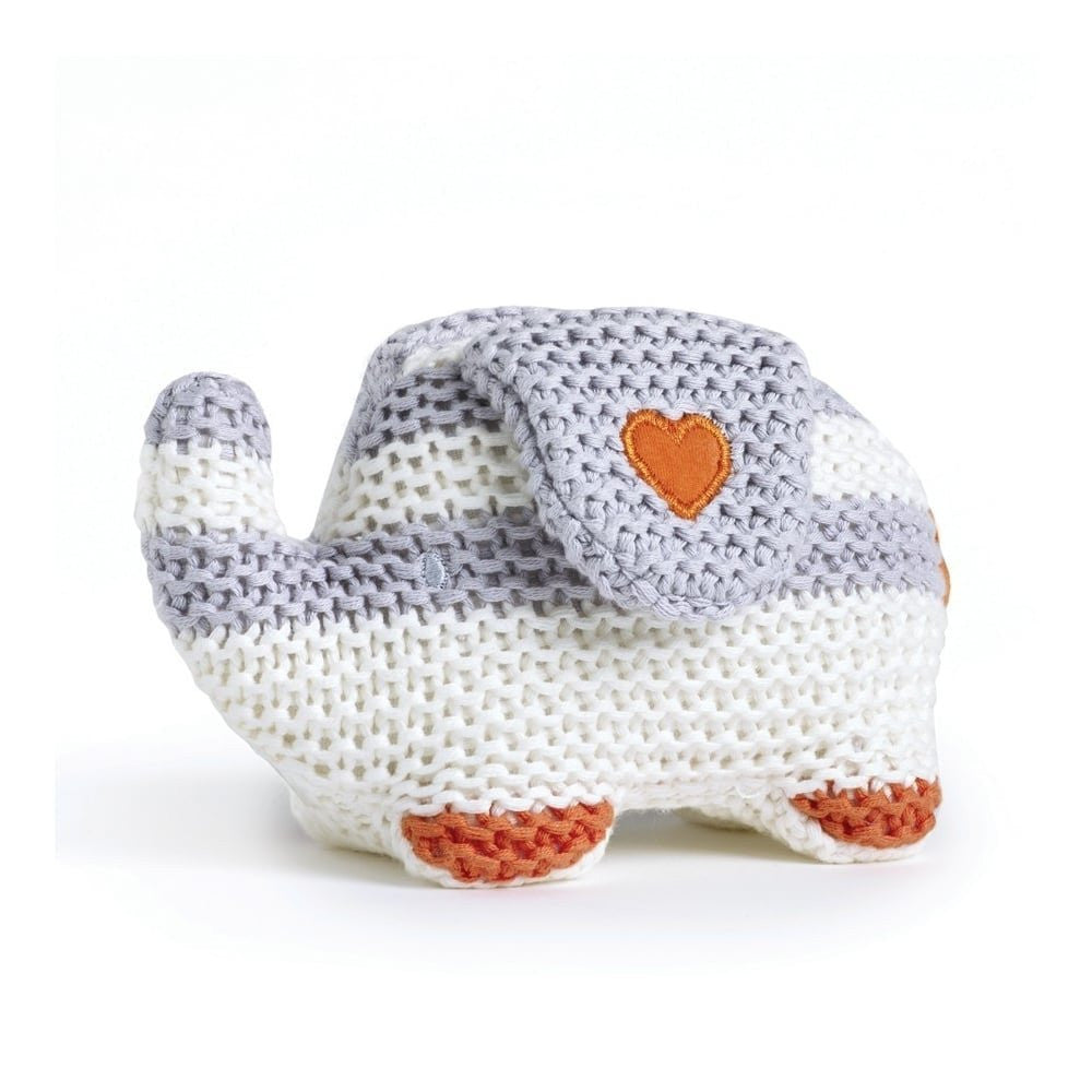 Natures Purest 'My First Friend' Striped Knitted Elephant